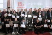 """Велички епископ Сионий с приз  """" Достойните българи """""""
