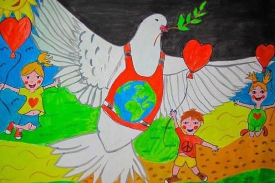 Марина Кацарска е финалист на международния конкурс за детска рисунка Draw Me Peace
